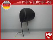 Mercedes W211 S211 Kopfstütze Vorne LEDER Schwarz 2119703578 Kunstleder Schwarz