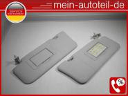 Mercedes W164 SET Sonnenblenden R u. L 1648102410, 1648102310 Alpacagrau 1648102