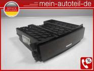 Mercedes W164 Ablagefach Mittelkonsole 1646801152 Wurzelholz / Wurzel-Nuss 16468