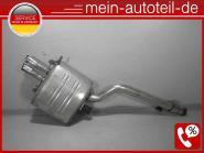 BMW 5er E61 530d Endschalldämpfer Auspuff exhaust 7798512 Kombi M57N 18307802842
