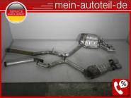 Mercedes S211 E 55 T AMG Kompressor Auspuff SET ohne Mitteltopf -> Top Sound