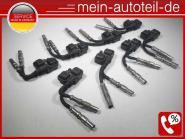 Mercedes S211 E 55 T AMG Kompressor 55 AMG KOMPLETTES SET Zündkabel + Zündspule