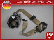 Mercedes S211 Gurt Gurtstraffer VR Buckskin (2006 - 2009) 2118607886 A, 21186078