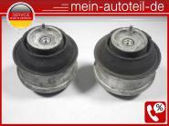 Mercedes S211 ORIGINAL Motorlager SET R+L 320cdi 2112403517 2112402117, A2112402