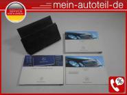 Mercedes S211 Betriebsanleitung Ledermappe MOPF (06-09) COMAND 2115842897 Bucksk