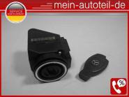 Mercedes S210 Zündschloss + Schlüssel (bei MB 2012 erneut) 2105450308 2105450308