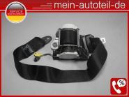 Mercedes W251 Sicherheitsgurt 2. Sitzreihe rechts SCHWARZ belt 2518600485 251860