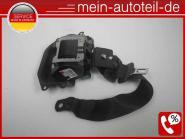 Mercedes S211 Gurt HL Kombi Schwarz (2006 - 2009) 2118601386 a2118601386, a 211