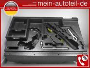 Mercedes W164 Pannenset Reserveradmulde Wagenheber Unterlegkeil 1645800118 16458