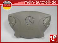 Mercedes S211 Fahrerairbag Beige (2002 - 2006) 2118600202 - 2118600802 SRS Airba