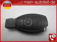 wie NEU Mercedes KOMPLETTER Schlüssel 2 Tasten Key Schwarz W203 W204 W210 W211