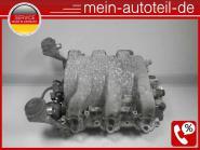 Mercedes S211 320 4-matic Ansaugkrümmer mit Drosselklappe 1121401901, 1121410125
