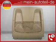 Mercedes W251 Sitzverkleidung Vorne Buckskin 2519100139 Leder - Braun A251910013