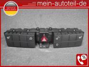 Mercedes S203 Schalterleiste Warnblinker Sitzheizung ESP Avantgarde 2038702910 V