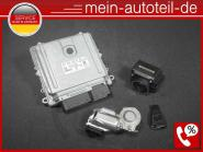 Mercedes S203 C 320 CDI SET Motorsteuergerät Zündschloss C320 CDI 224PS 64215091