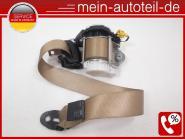 Mercedes W251 Sicherheitsgurt 2.te Sitzreihe rechts Buckskin 2518600485 Buckskin