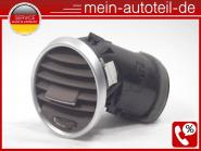 Mercedes W164 ML 420 CDI 4-matic Luftdüse Li Armaturenbrett Java Dunkel 16483019