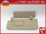 Mercedes W164 Doppelsonnenblende Li 1648102110 + 1648101110 Buckskin A 164 810 2