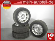 Mercedes W211 S211 Michelin 2015 6mm Original Alufelgen Winterräder 225/55 R16 9
