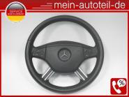 Mercedes W164 Fahrerairbag Lederlenkrad Tiptronic Schwarz 1644600098 1644605103,