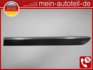 Mercedes W164 Türleiste HL 197 Obsidanschwarz 1646905362 A 164 690 53 62, A16469