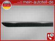 Mercedes W164 Türleiste HR 197 Obsidanschwarz 1646905462 A 164 690 54 62, A16469