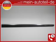 Mercedes W164 Türleiste VR 197 Obsidanschwarz 1646905262 A 164 690 52 62, A16469