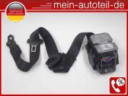 Mercedes W211 S211 Gurt VL Schwarz 1 Stecker MOPF (2005 - 2006) 2118604186 A2118
