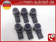 Mercedes W211 S211 SET 6 X PDC Sensor 359 Tansanitblau (2006-2009) 359 Tansanitb