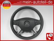 Mercedes W164 Fahrerairbag mit Lederlenkrad Tiptronic Schwarz 1644600098 1644605