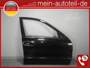 Mercedes W211 S211 KOMPLETTE Tür VR Facelift (2006-2009) 170U Columbitschwarz-Me