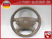 Mercedes W211 S211 Fahrerairbag Landscape 8465 mit Holz-Leder Lenkrad (06-09) 21