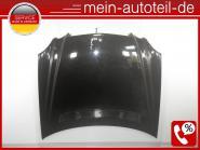 Mercedes W211 S211 ORIGINAL ALU Motorhaube (02-09) hood 170U Columbitschwarz-Met