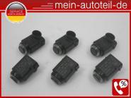 Mercedes W251, V251 SET 6 X PDC Sensor 197 Obsidianschwarz 197 Obsidanschwarz 00