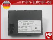 Mercedes W164 Zentrales Gateway Steuergerät ZGS 1645406745 Q1 ZGS 001 A164540674