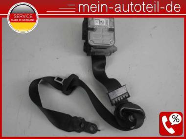 Mercedes W211 S211 Gurt VR Schwarz 1 Stecker MOPF (2005 - 2006) 2118604286