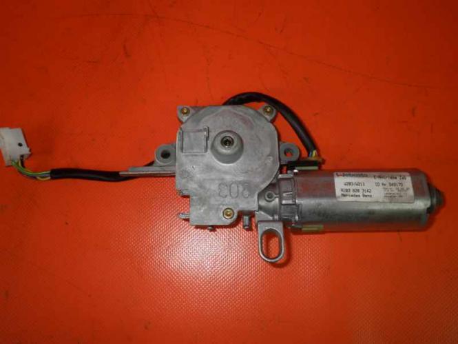 Mercedes W211 S211 Schiebedach Glasschiebedach GSD SD Motor 2038203142 - 2038203