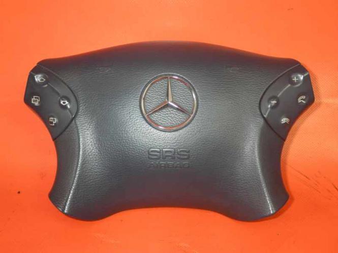 Mercedes W203 S203 Fahrerairbag SRS Airbag Lenkrad BLAU 2034601198 Pazifikblau A