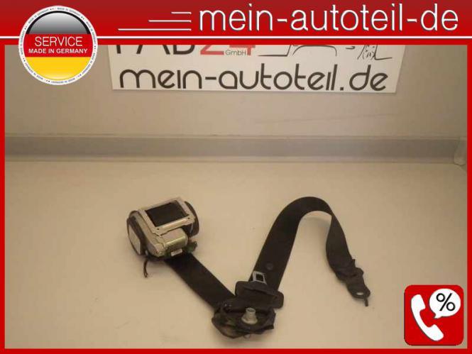 Mercedes W211 S211 Gurt VL Schwarz (2005 - 2006) 2118605185 Oriongrau 2118600186