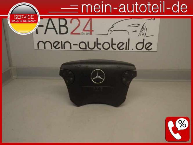 Mercedes S210 E 270 T CDI Fahrerairbag Schwarz MOPF 2104600598 612961 A210460059