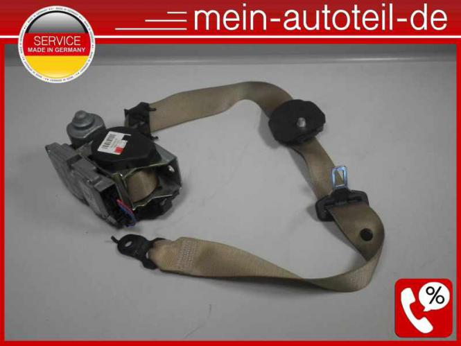 Mercedes S211 Gurt Gurtstraffer VL Buckskin (2006 - 2009) 2118604186 - 211860418