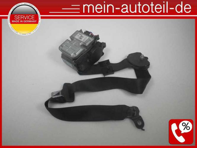 Mercedes S211 Gurt Gurtstraffer VL Schwarz (2006 - 2009) 2118607786 - 2118604186