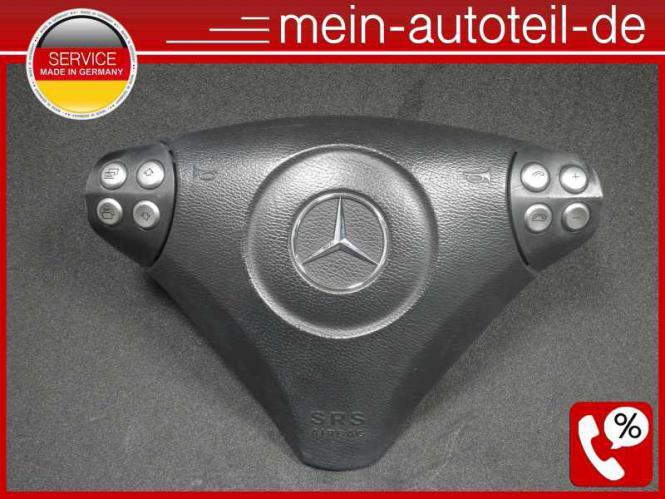 Mercedes S203 Fahrerairbag SRS Airbag Lenkrad Sport 1718600702 Alpacagrau 171860