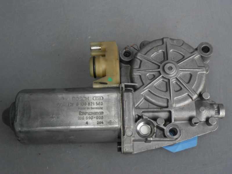 Mercedes W140 C140 Fensterhebermotor VR BOSCH FPE 12V 0 130 821 503 brose  186